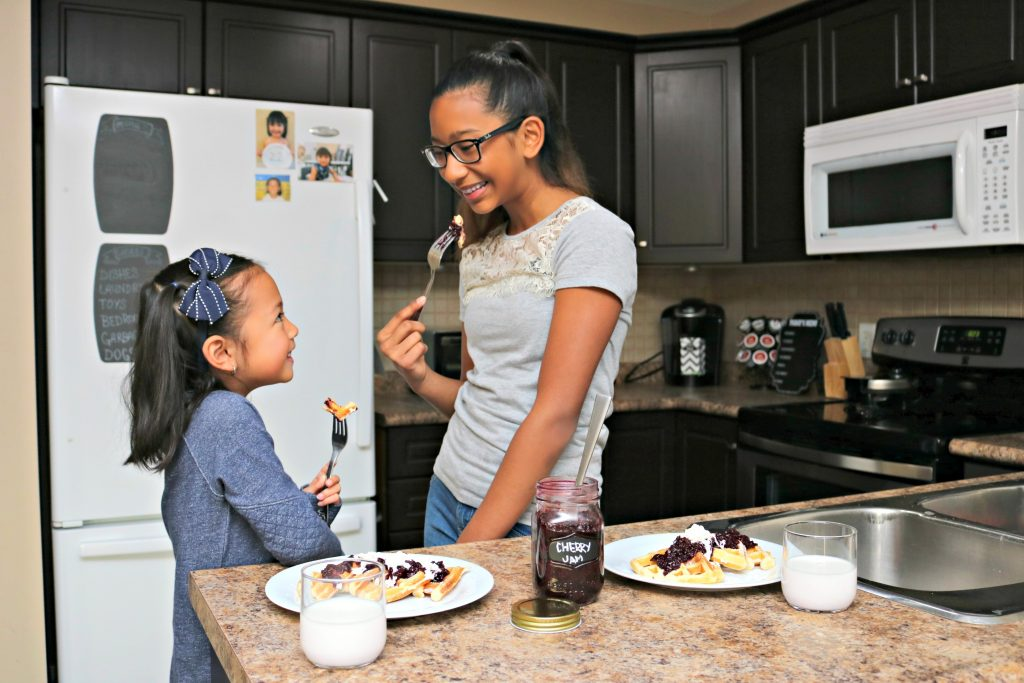 Kid-Friendly 3-Ingredient Cherry Jam Recipe! #WeLoveGreatValue