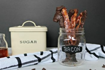 Easy Maple-Candied Chocolate Bacon Recipe!