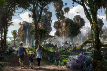 Disney's Animal Kingdom NEW Rivers of Light Show + The World of Avatar! #DisneySMMC