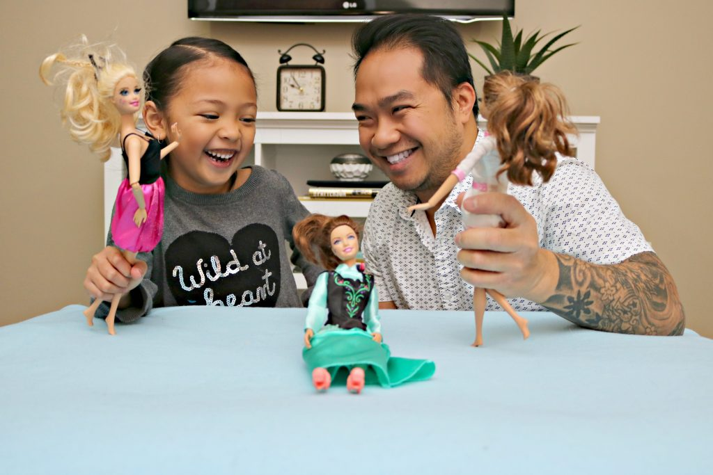 Participate in the Dads Who Play Barbie Challenge & You Could Win $25,000! #DadsWhoPlayBarbie