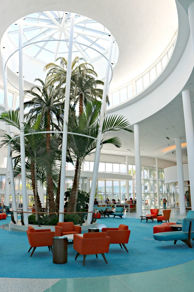 Another view of the Cabana Bay Beach Resort.