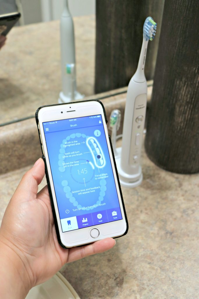 Smart Brushing with Philips Sonicare FlexCare Platinum Connected! #tech