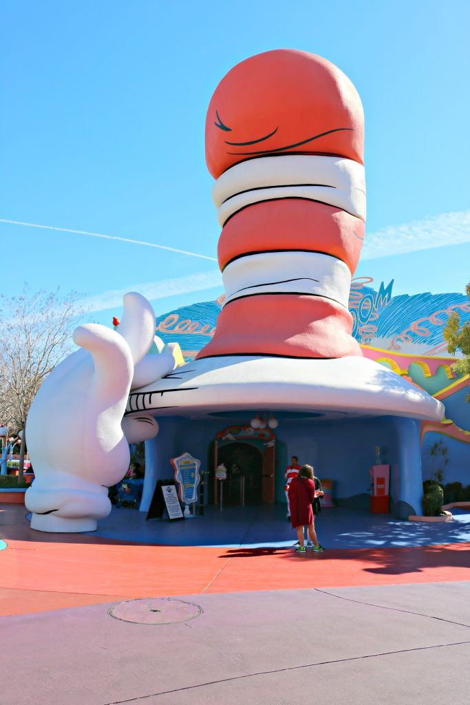 The Cat in the Hat a large scale in building form.