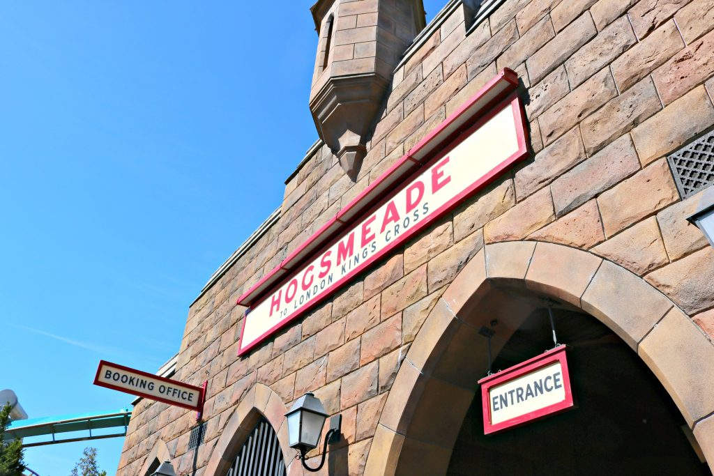 Hogsmeade station to London Kings Cross.