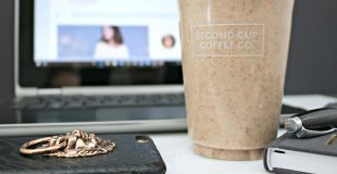Stay on Track with the Second Cup Almond Date Smoothie & Better for You Menu!