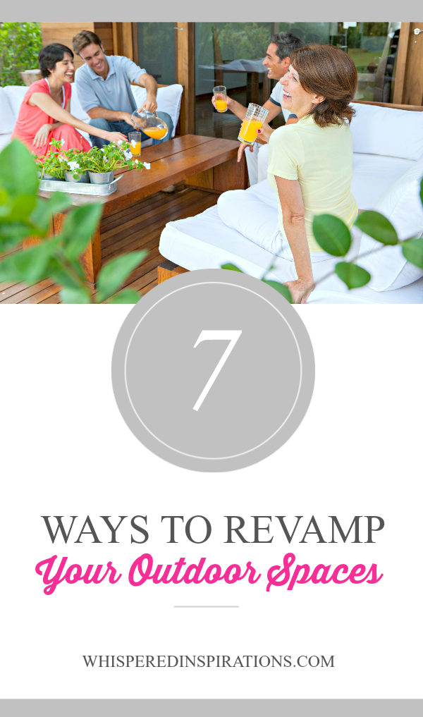 7 Ways to Revamp Your Outdoor Spaces! #ChurchAndDwight