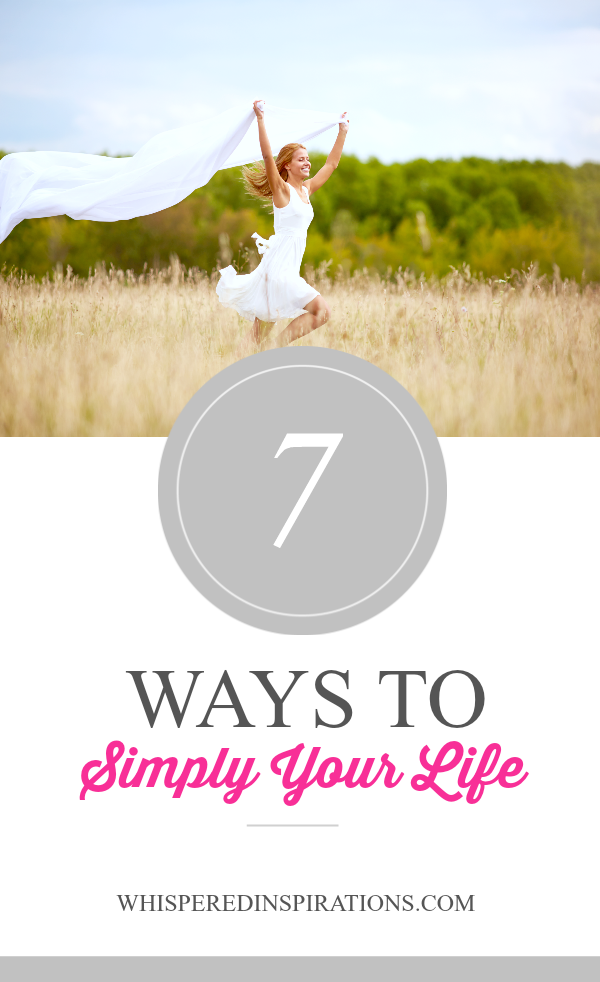 7 Easy Ways to Simplify Your Life! #tips