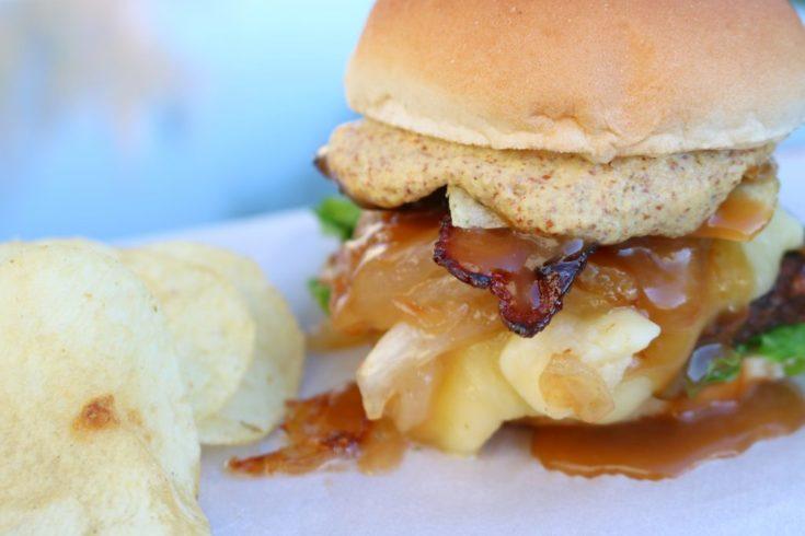 Quebec Maple Bacon Poutine Burger