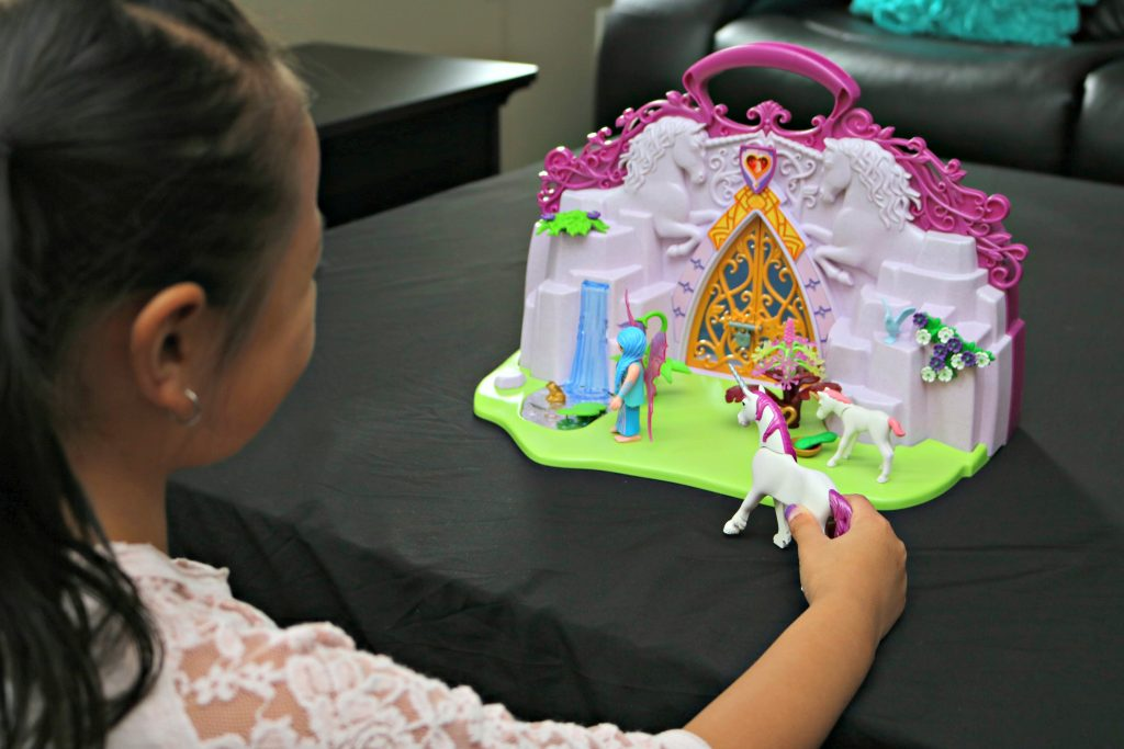 PLAYMOBIL Take-Along Sets: Fairy Unicorn Garden & My Take-Along Farm + Giveaway!