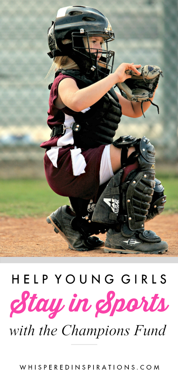 Young girl plays basketball and shows that we need to help young girls stay in sports.