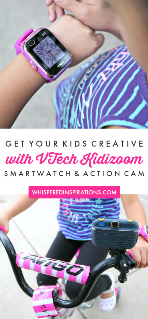 Getting Creative with Kidizoom Smartwatch DX2 & Action Cam 180 + Giveaway!