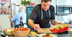 Concoct Culinary Masterpieces with the New LG Kitchen + Try Chef Chuck Hughes' Roasted Chicken Thighs Recipe!
