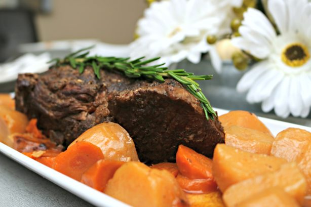 Easy Slow Cooker Pot Roast