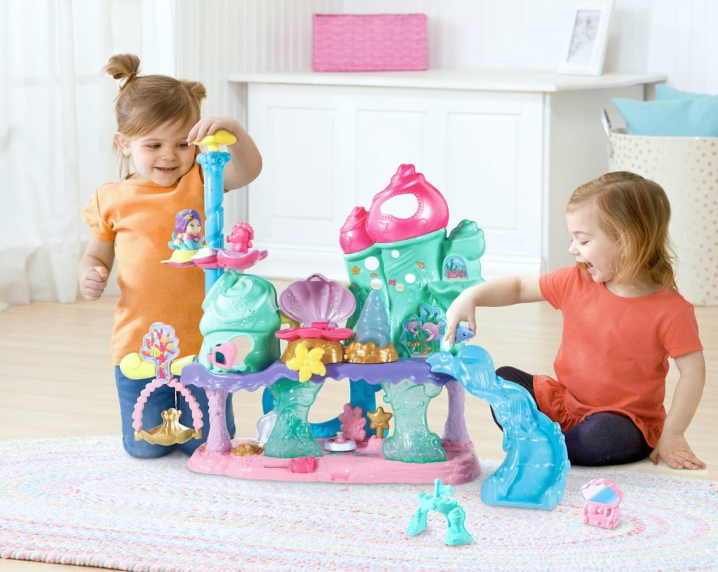 Go! Go! Smart Friends Shimmering Seashell Castle + Giveaway!