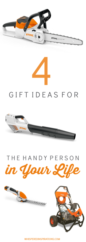 4 gifts from stihl that will make the handy person in your life jump
