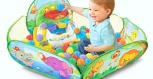 Go! Go! Pop-a-Balls Drop and Pop Ball Pit + Giveaway!
