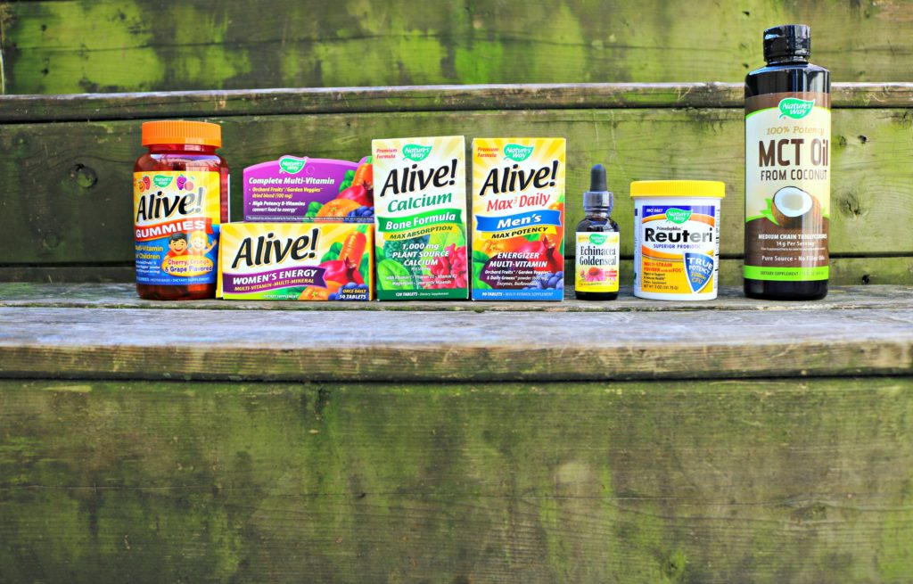 iHerb and Nature's Way Helps My Family Stay Healthy All Year Long!