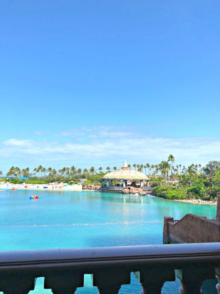 The lake in Atlantis resort.