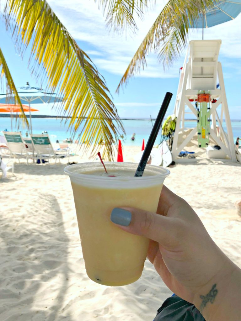 A renowned Konk Cooler at Castaway Cay!