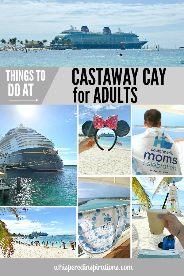 You may think that Disney's Castaway Cay is completely geared towards kids but, that's not necessarily true. While it does have plenty of family fun, there are so many things to do in Castaway Cay for adults. You'll find that a day at Castaway Cay is exactly what you need in your life. #DisneySMMC #DisneySocialMediaMoms #DisneySocialMediaMomsCelebration
