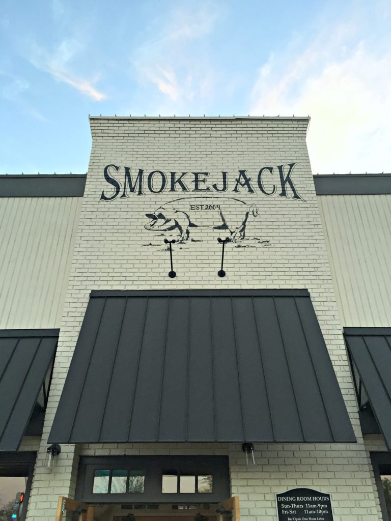 Smokejack BBQ in Alpharetta, Georgia.