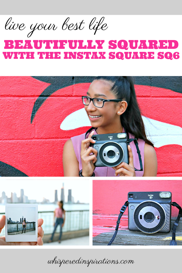 Life Beautifully Squared with the Instax Square SQ6! See the beauty of the world through a lens and capture something that doesn't need to be shared digitally if you don't want to. No time stamp, no negatives, no likes or comments. Just a perfect and beautifully squared memory to keep for always. #BeautifullySquared #MyInstax #InstaxSQ6 #SQ6May24