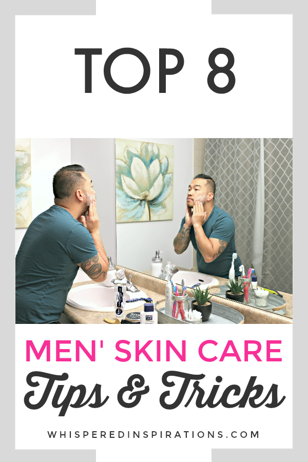 There is a common misconception that if you're a man, you don't need to take care of your skin. Well, I am here to break that way of thinking because, guys, we only have one face and we need to take care of it. Check out these men's skin care tips and consider adding them to your everyday routine. #menstips #mensskincare