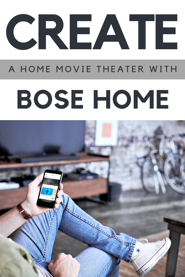 If you're an audiophile like me & love the newest connected home products--have I got a treat for you! Create a Home Movie Theater with Bose Home. #tips