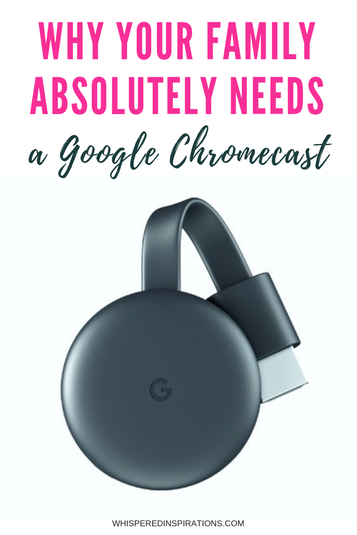 Like streaming Hulu, Netflix, and YouTube videos right on your TV through any device? Then your family needs a Google Chromecast Streaming Media Player. #tips #tech