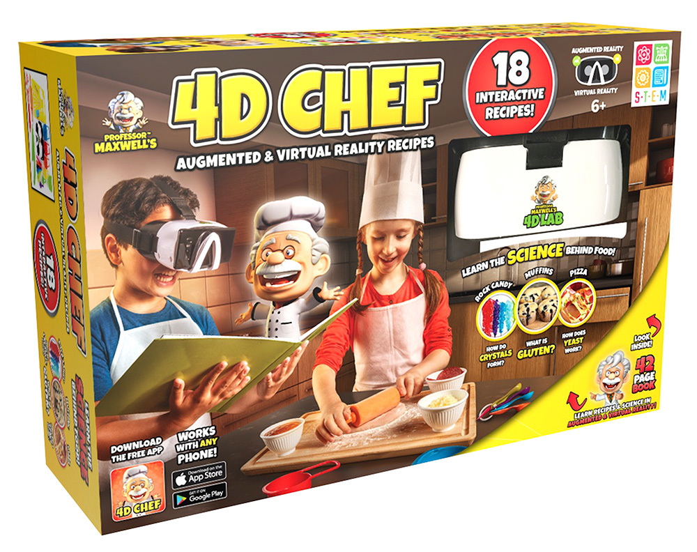 4D Chef Box is shown.