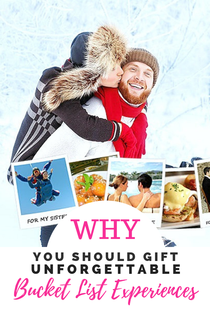 Remember - the best gifts can't be wrapped! Gift epic and Unforgettable Bucket List Experiences w/ Breakaway Experiences. Plus, enter to #WIN a $100 Gift Certificate. #HolidayGiftGuide #HGG2018