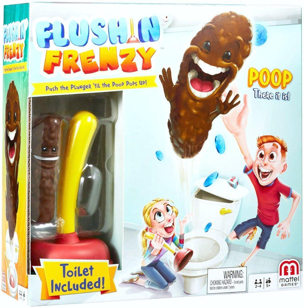 The Flushin' Frenzy game.