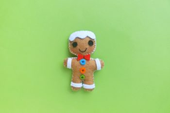 Adorable Step-by-Step Gingerbread Man Christmas Ornament