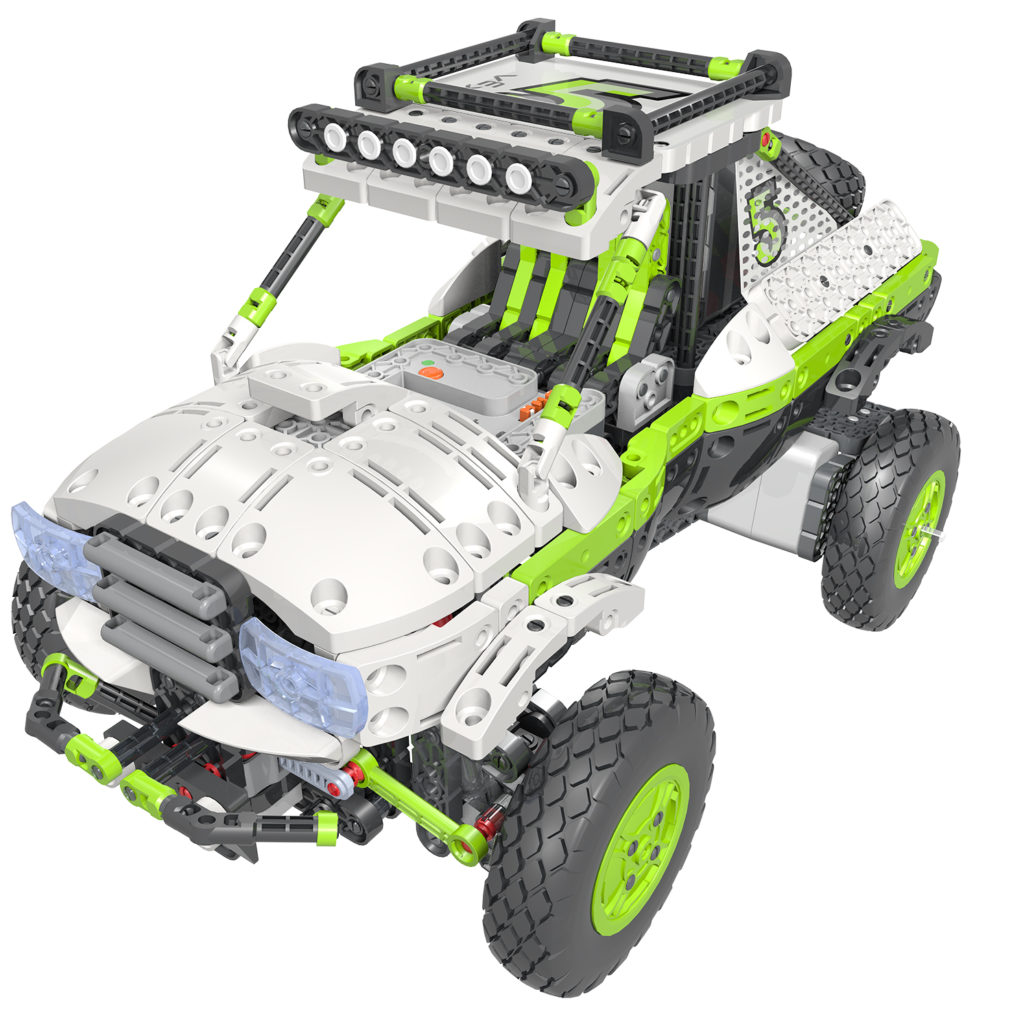 A really cool robotic off road truck.