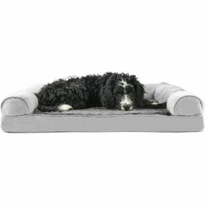 A large dog bed comfortable for those fur babies.