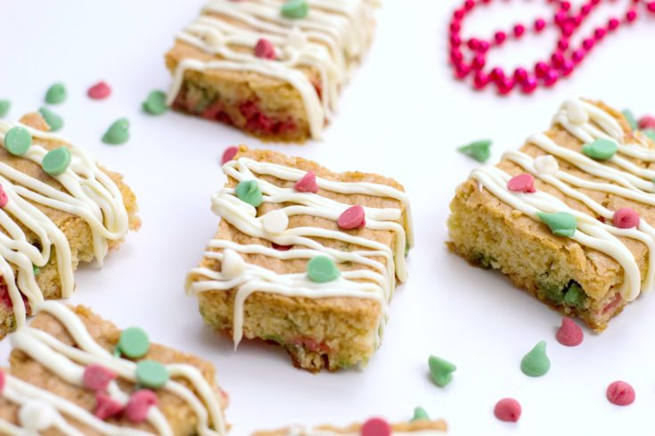The Best Christmas Blondies