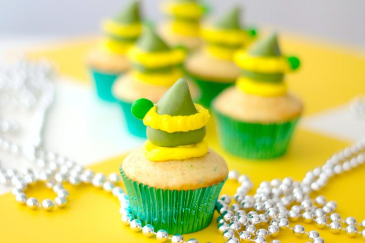 Buddy the Elf Inspired Cupcakes