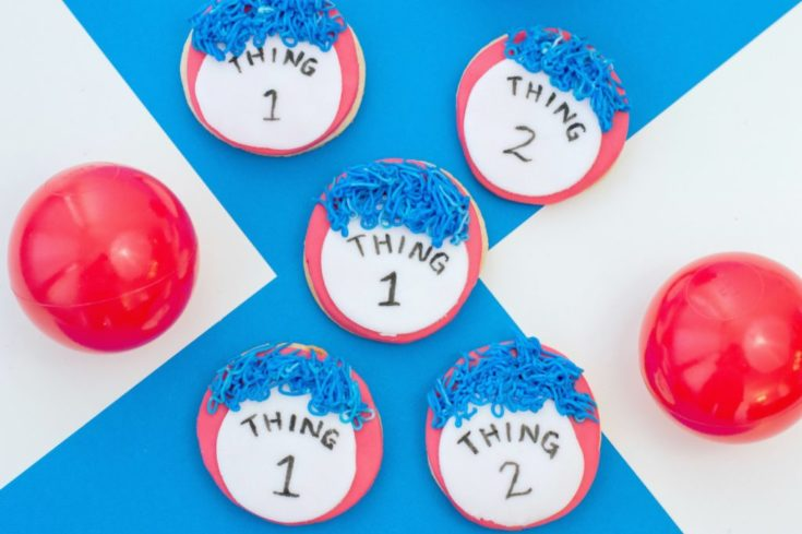 Thing 1 and Thing 2 Cookies Recipe