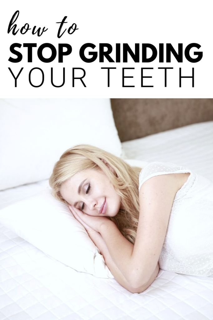 There's no denying how hard it is to break a habit that you don't even realize you have. Here's how to stop grinding your teeth today. #tips