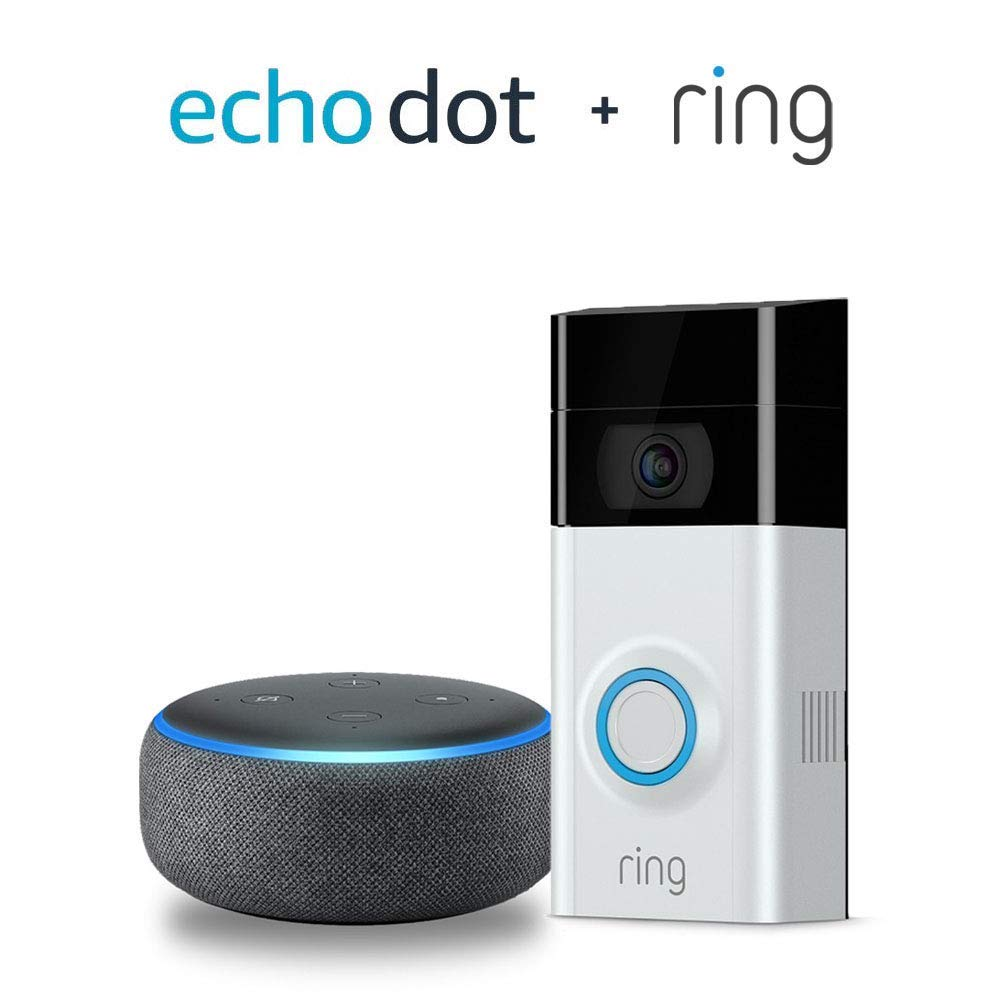 Echo Dot and Ring bundle on Amazon.