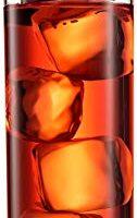 Paksh Novelty Italian Highball Glasses [Set of 6] Clear Heavy Base Tall Bar Glass