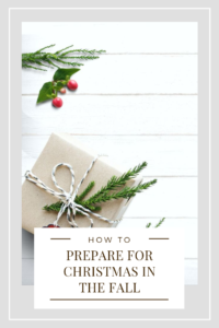 Christmas is one of the most joyful times of the year, but can be the most stressful. Here are some tips to help you prepare for Christmas in the fall. #tips #christmastips
