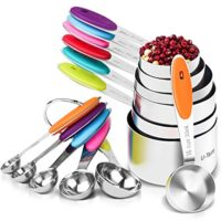12 Piece Measuring Cups and Spoons Set