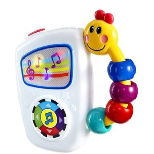 A Baby Einstein Take Along Tunes Musical toy.