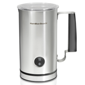 Hamilton Beach Milk Frother pictured from the front.