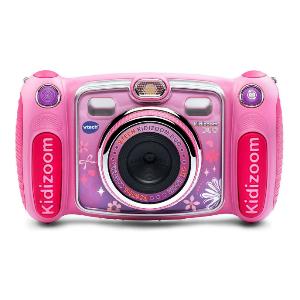 A pink Kidizoom selfie camera.