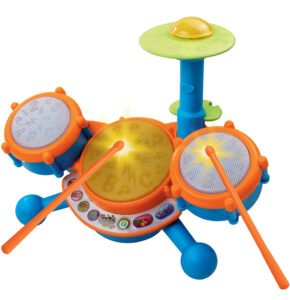 A fun drum set for babies from Kidizoom.