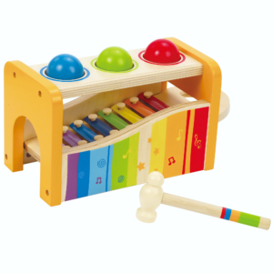 A musical xylophone for babies.