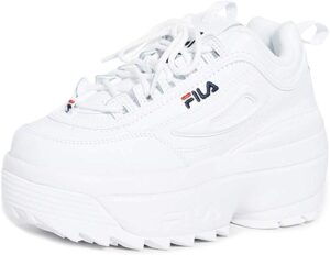 The FILA Disruptors that every VSCO girl loves.