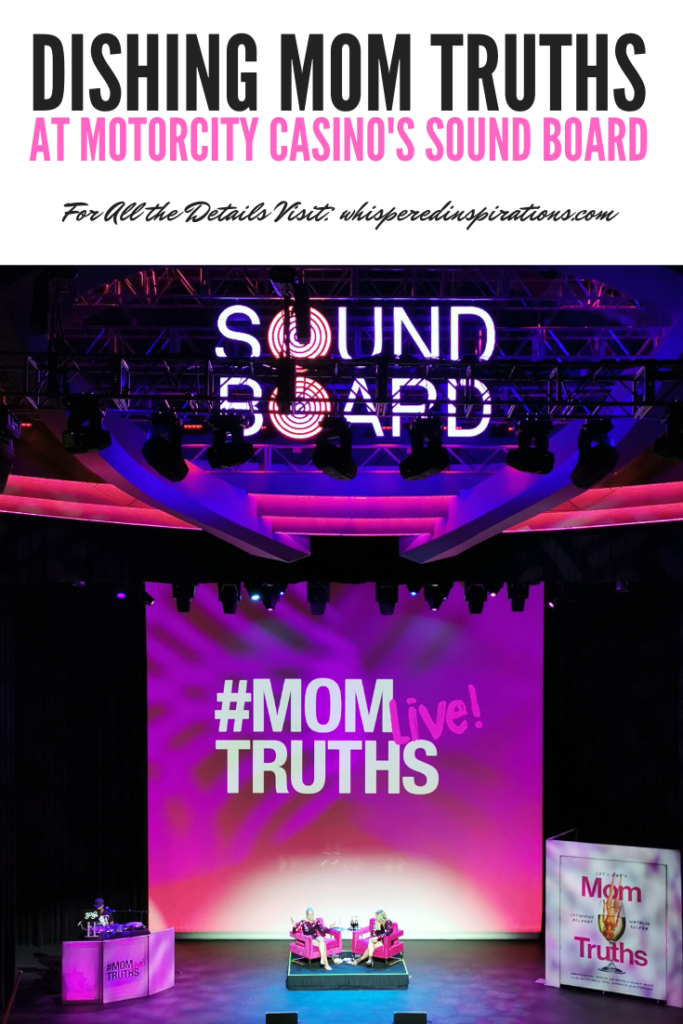 Being a mom is a busy but, fulfilling job. We caught Cat and Nat's show & threw guilt to the wind! Get all the details about Motorcity Casino's Sound Board.